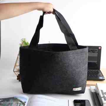 UCHII Felt Totebag Eco Friendly | Tas Portable Travel Wanita Serbaguna image