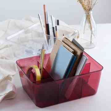 UCHII Portable Desktop Cosmetic Storage Divider | Kotak Make Up Sekat image