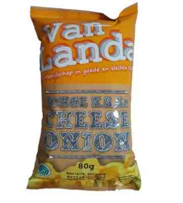 Van Landa CHEESE ONION Potato Chips image