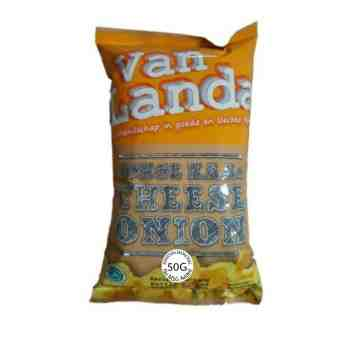 Van Landa CHEESE ONION Potato Chips 50g image