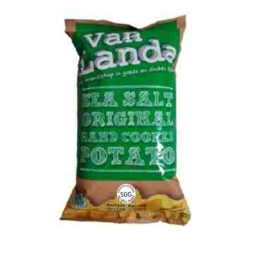 Van Landa SEA SALT ORIGINAL Potato Chips 50g image
