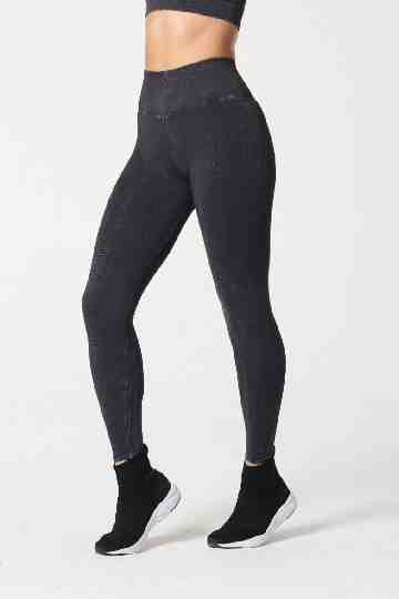 One by One Legging Black Wash