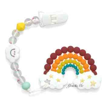 Rainbow Smile Teether Set image