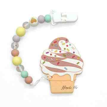 Ice Cream Sundae Teether Set image