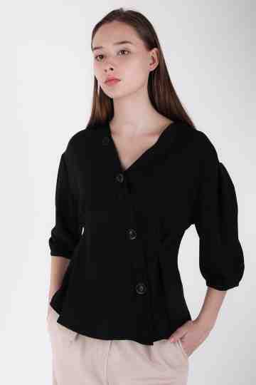 Vneck Highcond Blouse