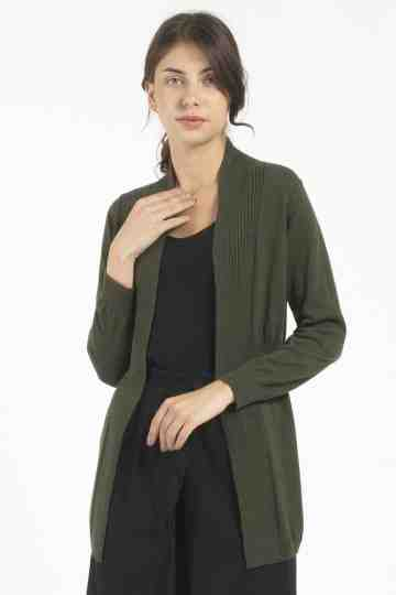 743 KNIT OUTER - ARMY