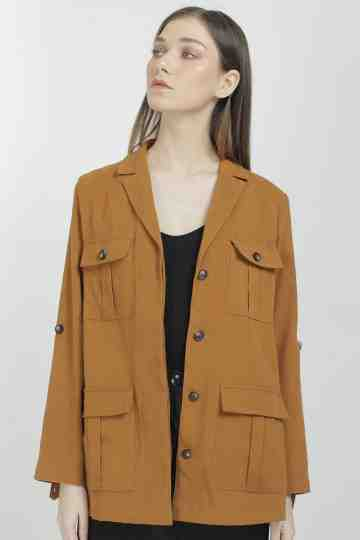 13430 FAUX SUEDE OVERSIZE