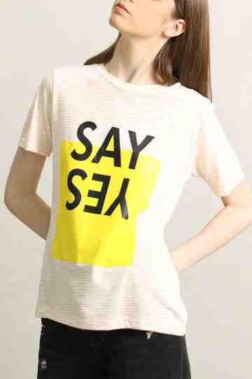 BL-173 T-SHIRT SAY YES