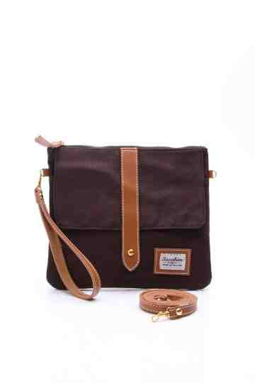 Brown pouch series image