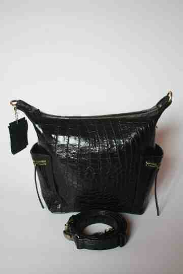 Millie hobo black croco series image
