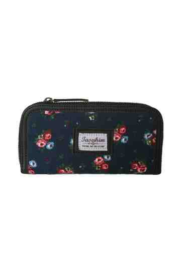 Canvas Navy floral sries image