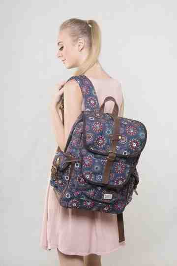 Boho circle backpack series image
