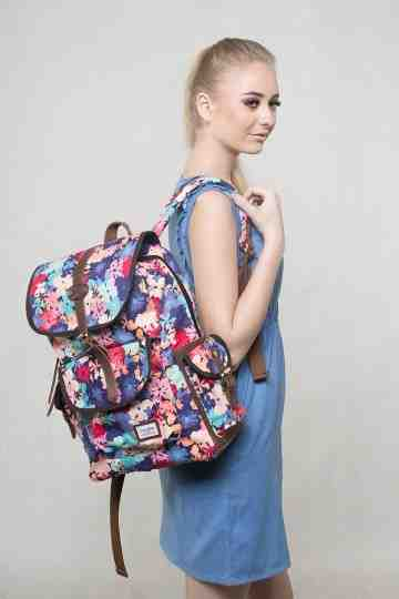 Cute floral backpack series image