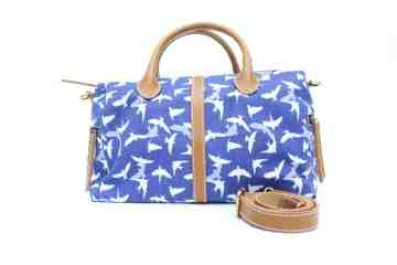 Navy swallow satchel series image