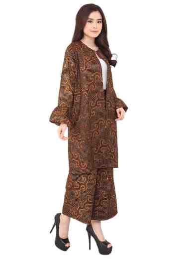 Set Long Coat & Cullote 05 Almeta (No Inner)