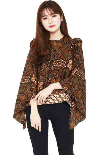 Mille Crepe Blouse Brown Lovers