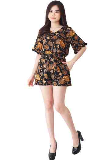 Set Lisa Blouse & Ribbon Short Pants Fabulous Fan