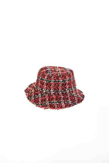 City - Wine tweed bucket hat image