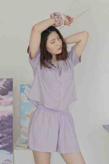 Joie Lilac Top image