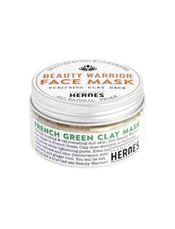 Handmade Heroes - Beauty Warrior French Green Clay Mask image
