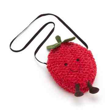Jellycat Amusable Strawberry Bag