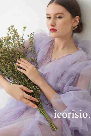 PETRICHOR DRESS - LILAC image