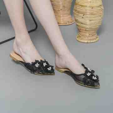 Lace Lynelle Yessi Black Flat