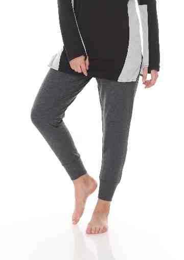 FLEECE JOGGER PANT GREY