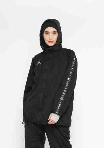 LAMIA NEW SWEAT JACKET BLACK
