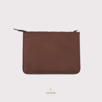 Lenora Laptop Sleeve - Raisin