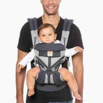 ERGOBABY OMNI 360 Cool Air Mesh - Carbon Grey