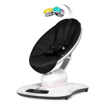 4MOMS Mamaroo 4.0 Bouncer - Black Classic