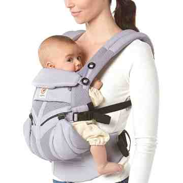 ERGOBABY OMNI 360 Cool Air Mesh - Lilac Grey
