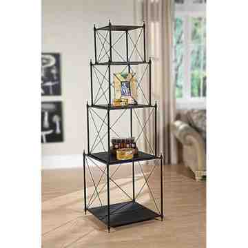 Lumikasa Metal 4-Tier Nested Shelf
