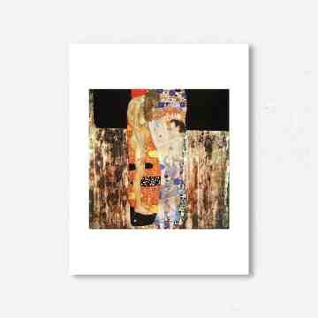 Lumikasa Klimt The Three Ages of Woman, 1905 Framed Art Print