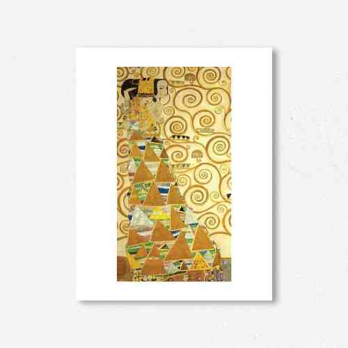 Lumikasa Klimt Expectation, 1905 Framed Art Print