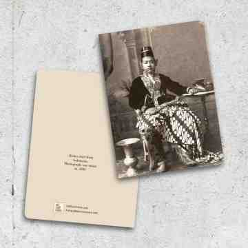 Old East Indies Thin Book Crown Prince of Yogyakarta