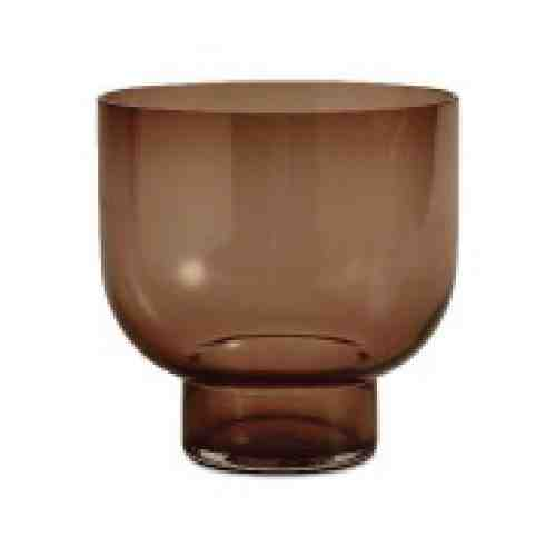 BoConcept Lucid Round Brown Glass vase