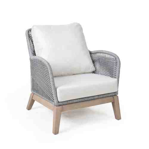 Pineapple Leon Lounge Chair Platinum