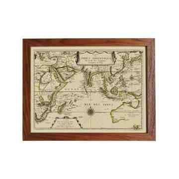 Old East Indies Frame Indian Ocean - Year 1665