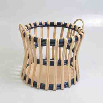 Nine Square Kalifa Rattan Basket