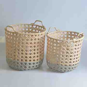 Nine Square Alika Rattan Basket