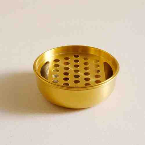 Harriet and Co Gold Food Grater Bowl