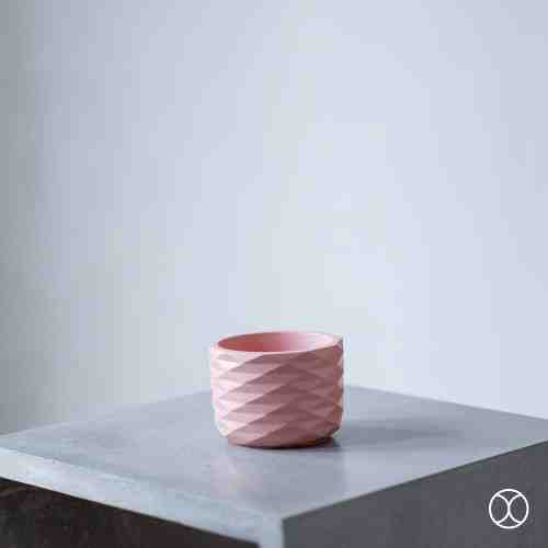 Concreate Acadia Planters Pink