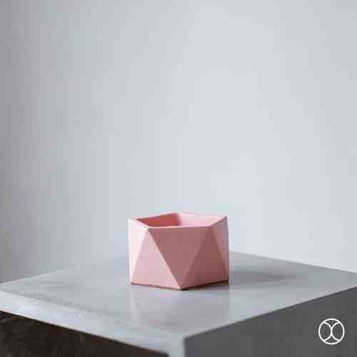 Concreate Hara Planters Pink