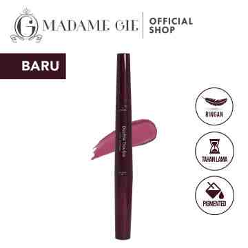 Madame Gie Double Trouble Creamy – MakeUp Lipstick Two In One