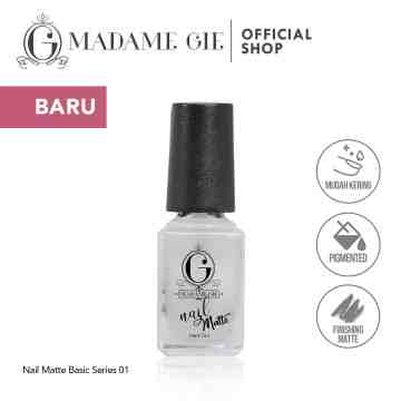 Madame Gie N-Matte Basic Series (Satuan) - MakeUp