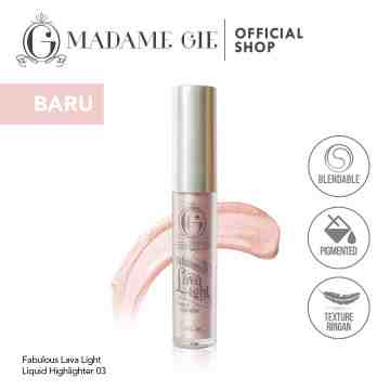 Madame Gie Fabulous Lava Light Liquid Highlighter - MakeUp Highlighter
