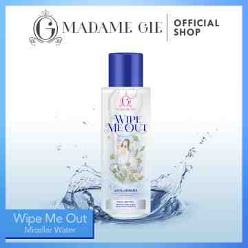 Madame Gie Wipe Me Out - Make Up Micellar Water Pembersih Wajah