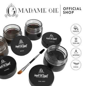 Madame Gie Madame Brow On Point – Make Up Eyebrow Pomade Cream Pensil Alis Waterproof